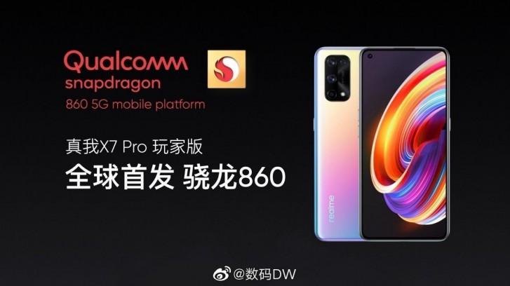 Realme X7 Pro akan memiliki Versi Khusus dengan Snapdragon 860