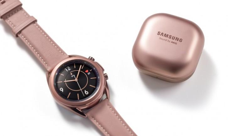 Samsung Galaxy Watch3 ve Buds Live, önceki modellerin satışlarını üçe katladı