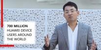 Tangkapan layar dari keynote Walter Ji