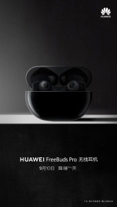Technology Huawei FreeBuds Pro tease