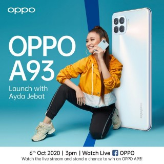 Oppo A93 posters
