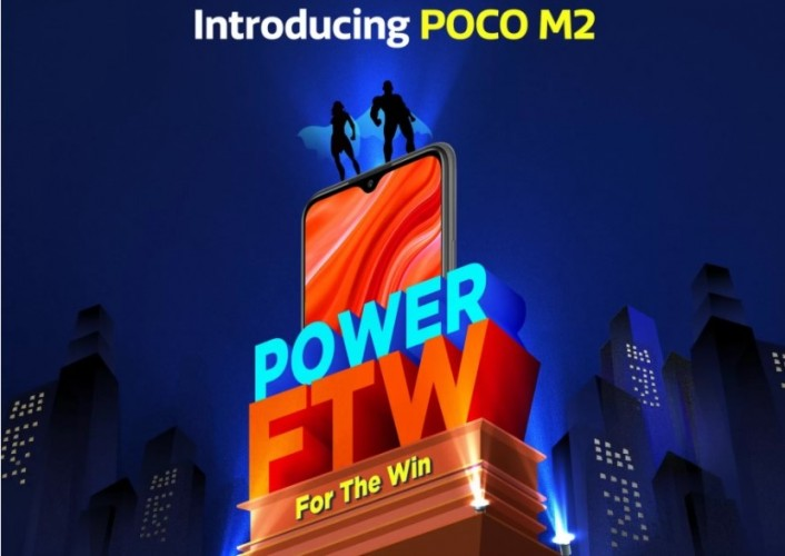 Poco M2, 8 Eylül'de büyük ekran ve büyük batarya ile geliyor