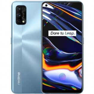Realme 7 Pro in Mirror Silver color