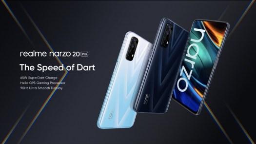 Realme announces three new smartphones - Narzo 20A, Narzo 20, Narzo 20 Pro