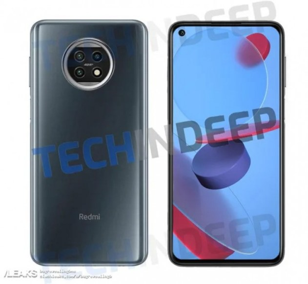 """Redmi Note 10 renders leak along with live images of """"Oreo"""" shaped triple cameras"""