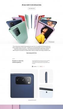 Infografis Samsung Galaxy S20 FE