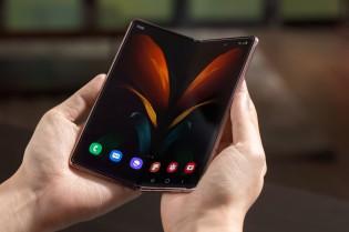 Samsung Galaxy Z Fold2 opened