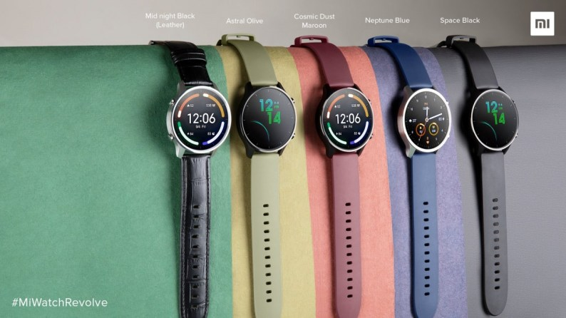 Xiaomi, Mi Watch Revolve, Mi Band 5 ve Mi Smart Speaker'ı Hindistan'a getirdi