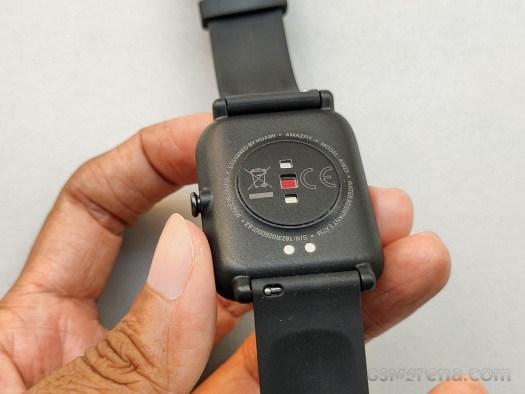 PPG Bio-Tracking Optical Heart Rate Sensor on Amazfit Bip S Lite