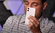 Apple iPhone 12 mini handled on video