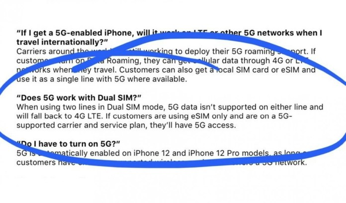 I bought an iphone 12 pro through apple and it came with a new sim card. iPhone 12 series will not support 5G in Dual-SIM mode - TechnoSports
