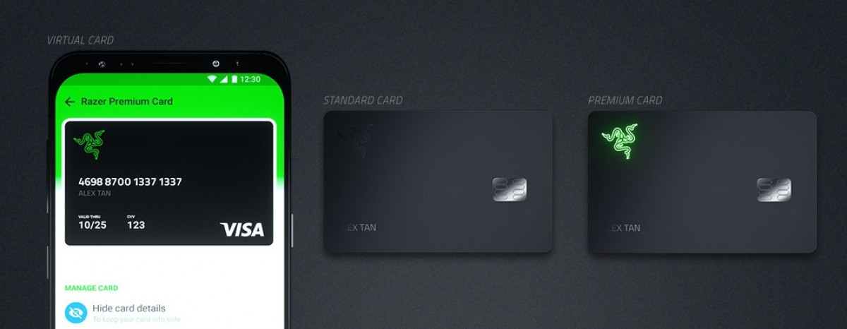 Razer Card announced - a pre-paid Visa card with 1% cashback on all purchases and a light-up logo
