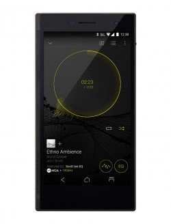 The Onkyo Granbeat DP-CMX1 looked like the company's portable audio players