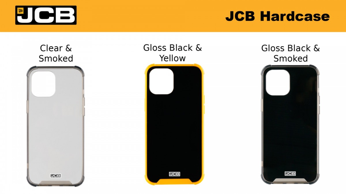 JCB Toughcases announced for iPhone 11 and 12 series (plus SE), a couple of Galaxy phones too