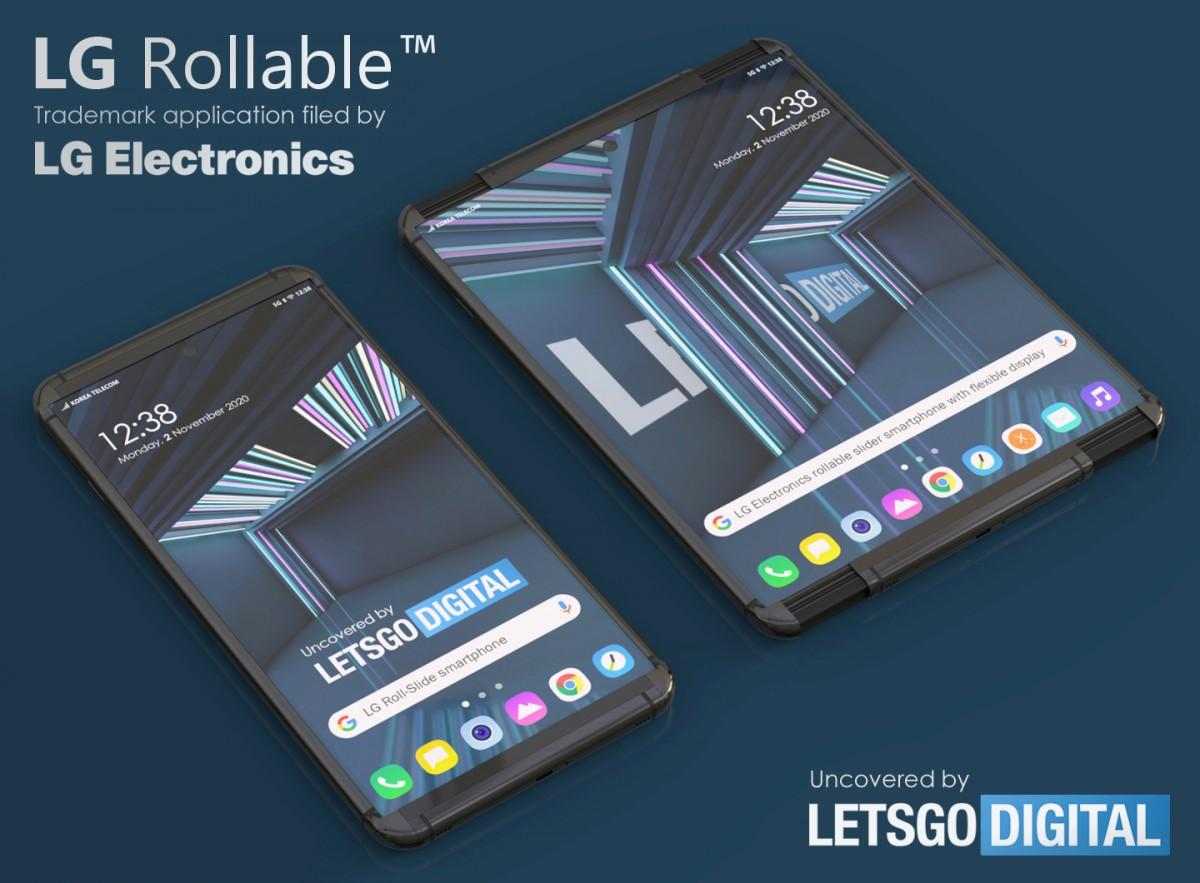 Smartphone LG yang dapat digulung bisa disebut LG Rollable