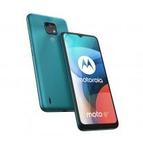 Motorola Moto E7 in Aqua blue