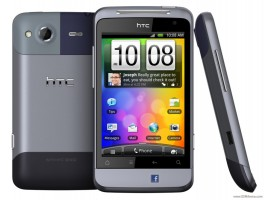 The HTC Salsa was more of the same instead you would use the on-screen keyboard