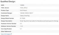 Galaxy Smart Tag details