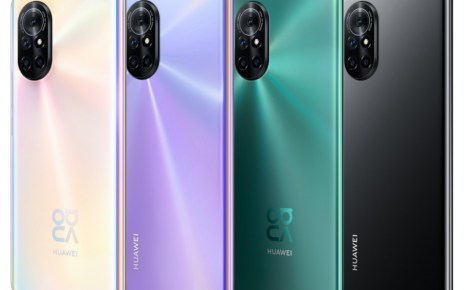 New Honor V40 phone appears with a familiar design
