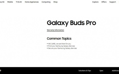 Galaxy Buds Pro moniker confirmed by Samsung on its website