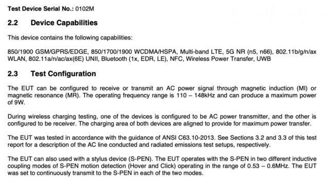 FCC confirms S Pen support on Galaxy S21 Ultra