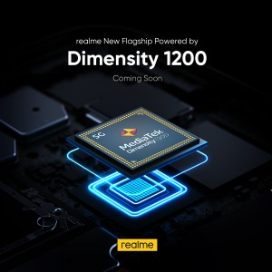A Realme phone will be one of the first to run on Dimensity 1200 power