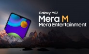 Samsung Galaxy M02 announced with 6.5
