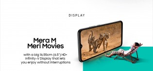 The Samsung Galaxy M02 will have a 6.5