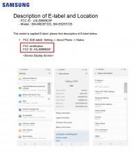 Samsung Galaxy M62: FCC label