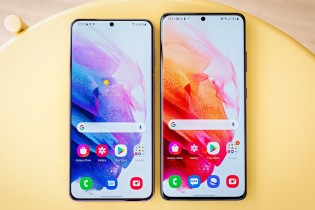 Samsung Galaxy S21+ and Galaxy S21 Ultra