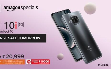 Xiaomi Mi 10i now available for Amazon Prime, Mi Reward members, general sale starts tomorrow