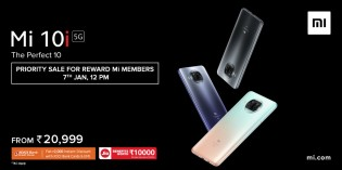 Amazon Prime and Mi Reward members get early access to the Xiaomi Mi 10i