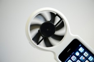 Wind-powered iPhones were on the table at one point, using the iFan accessory