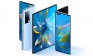 Huawei Mate X2 announced with in-folding design, periscope camera