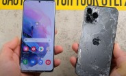 Galaxy S21 Ultra faces iPhone 12 Pro Max in gut-wrenching drop test
