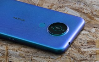 Nokia 1.4: 8 MP main + 2 MP macro cameras (and fingerprint reader)