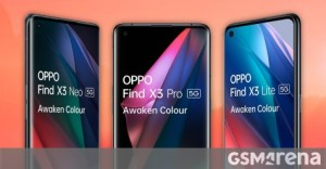 The alleged prices of the Oppo Find X3 for leaks in Europe, the X3 Pro model should start at 1,000 euros