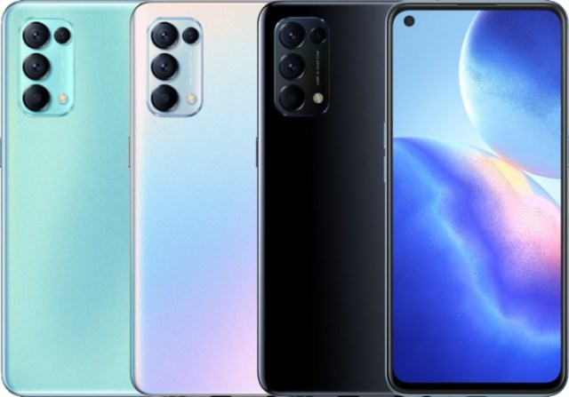 Oppo Reno5 K 5G announced with Snapdragon 750G, 90Hz screen, and 65W charging