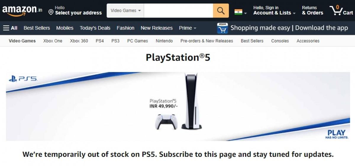 Sony PlayStation 5 sekarang dijual di India