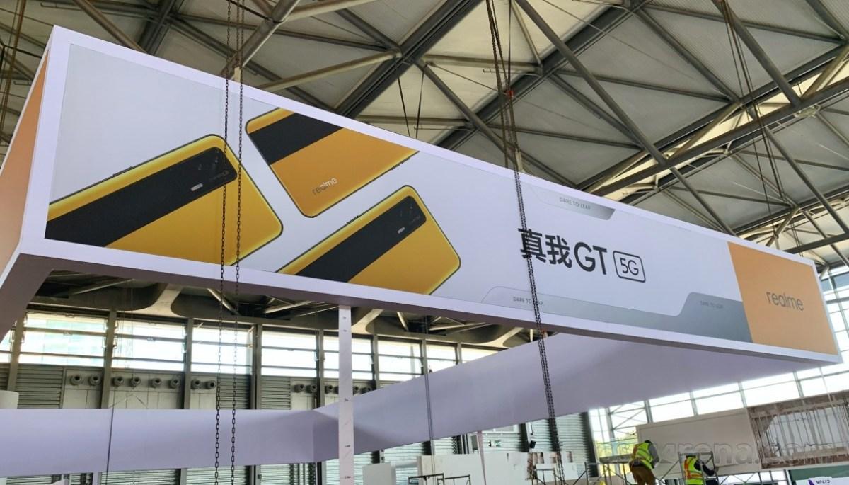 Eksklusif: Realme GT digambarkan di MWC Shanghai