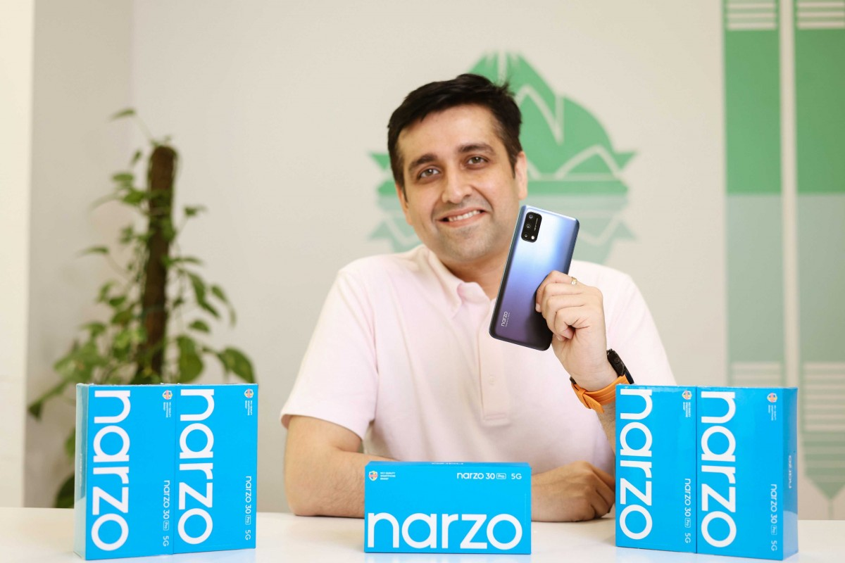 Realme Narzo 30 Pro appears, looks suspiciously similar to the Realme Q2