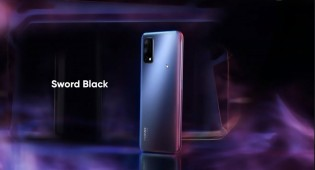 The Realme Narzo 30 Pro will be available in Blade Silver and Sword Black
