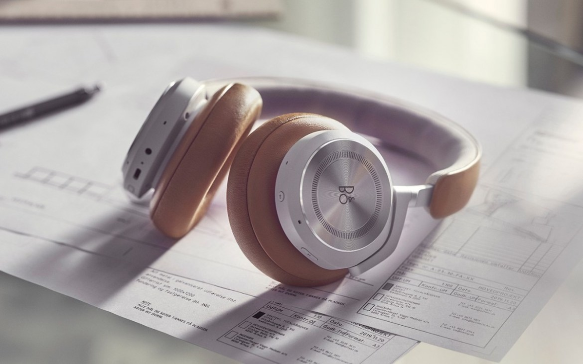 B&O's new Beoplay HX noise canceling headphones last an impressive 35 hours on a single charge