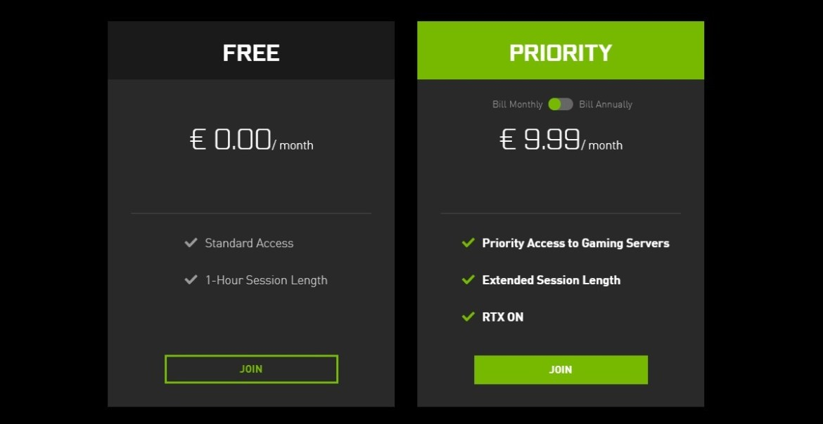 Nvidia introduces Priority plan for GeForce Now, stops accepting Founders' Edition sign-ups