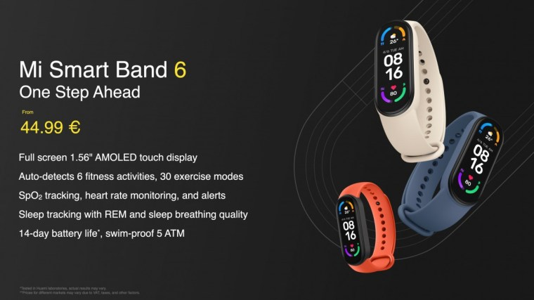Xiaomi Mi Smart Band 6 gets ''full screen'' AMOLED display, Mi Smart Projector 2 Pro also unveiled
