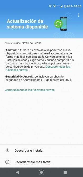 Motorola Moto G8 and G8 Power Android 11 OTA