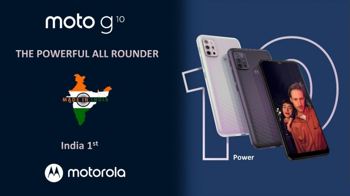 Motorola Moto G10 Power arrives in India with 6,000 mAh battery, Moto G30 tags along