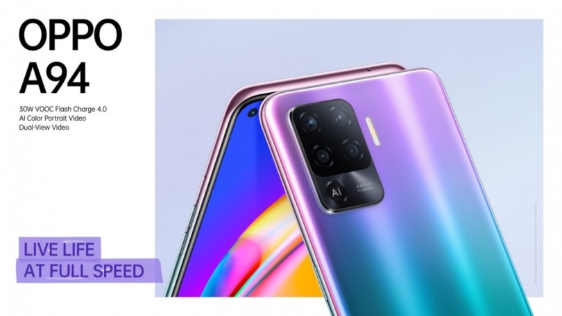 Oppo A94 introduced in Singapore for $319