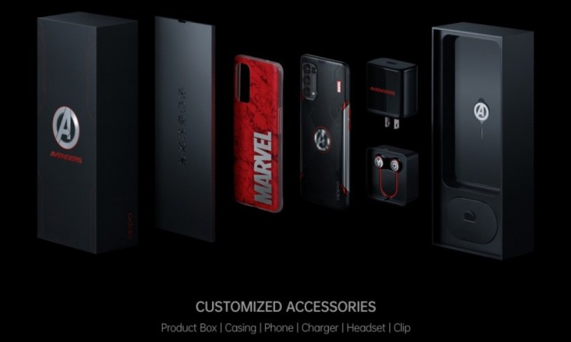 Oppo will offer a Reno5 Marvel Edition to a select few in Indonesia