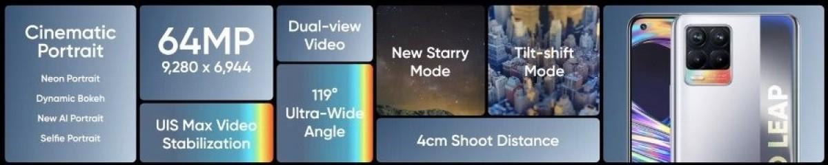 Realme 8 Pro diluncurkan dengan kamera utama 108 MP, pengisian daya panah 50W, dan tag Realme 8